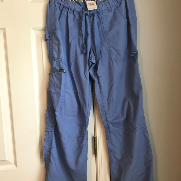 497efe1f39b koi Pants | Lindsey Ceil Blue Cargo Scrub Pant | Poshmark